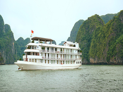 HALONG BAY 2 DAYS/ 1 NIGHT - One night on La Vela Cruise.