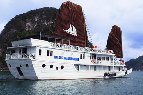 Halong bay 2 days 1 night - Dragon Gold Cruise.